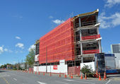 New Office Block Nears Completion in Victoria Street — Stock Photo