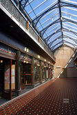 The New Tannery Victorian Style Shopping Arcade, Christchurch — Stock Photo