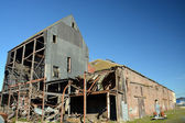 Historic Wood's Flour Mill Awaits Renovation — Stock Photo