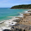 Rock Outcrop in the Noosa National Park Queensland Australia. — Stock Photo