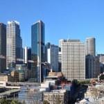 Sydney City Skyline Panorama, Australia. — Stock Photo
