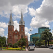 Notre Dame Basilica, Ho chi Minh City, Vietnam — Stock Photo