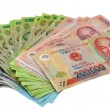 Vietnam Currency Dong Notes Money. — Stock Photo #39735649