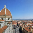 Florence Duomo Cathedral and City Panorama. Italy. — Stock Photo