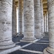 St Peter's Square Colonnade, Rome Italy. — Stock Photo