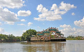 Floating Pearl Temple, Ho Chi Minh City, Vietnam. — Stock Photo