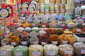 Sweet Stall at Ben Tanh Market, Ho Chi Minh City. — Stock Photo