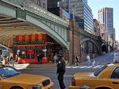 Pershing Square and Central Cafe, New York. — Stock Photo