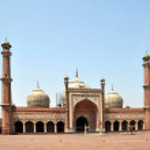 Jama Masjid - Largest Mosque in India — Stock Photo