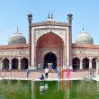 Jama Masjid - Closeup of the Largest Mosque in India — Stock Photo