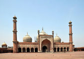 Jama Masjid - Largest Mosque in India — Stock Photo