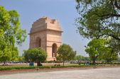 Historic India Gate Monument in Delhi.  — Stock Photo
