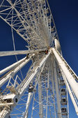 Brighton England - The New Brighton Wheel in Detail — Stock Photo