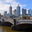 Melbourne City from South Bank. — Stock Photo #46719441