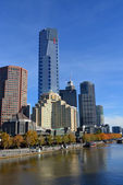 Eureka Tower, Melbourne - Tallest Building in Southern Hemispher — Stock Photo
