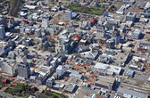 Aerial View of Christchurch Earthquake Demolitions — Stock Photo