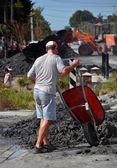Christchurch Earthquakes - The Big Cleanup Starts — Stock Photo