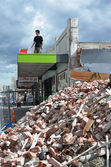 Christchurch Earthquake - Riccarton Damage — Stock Photo