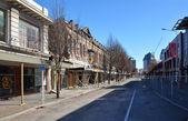 Christchurch Earthquake - High Street Deserted — Stock Photo