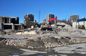 The Remains of the Park Royal Hotel, Christchurch New Zealand — Stock Photo