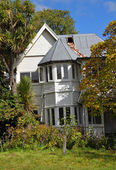 Christchurch Earthquake - Wood Lane House — Stock Photo