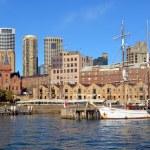 Sailing Ship Moored at Circular Quay, Sydney — Stock Photo
