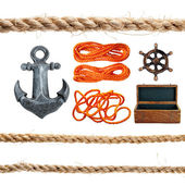 Marine items. — Stock Photo