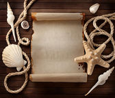 Marine background. — Stock Photo