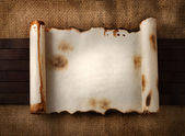 Parchment. — Stock Photo