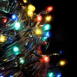 Christmas lights. — Stock Photo