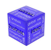 Business cube — Stock Photo
