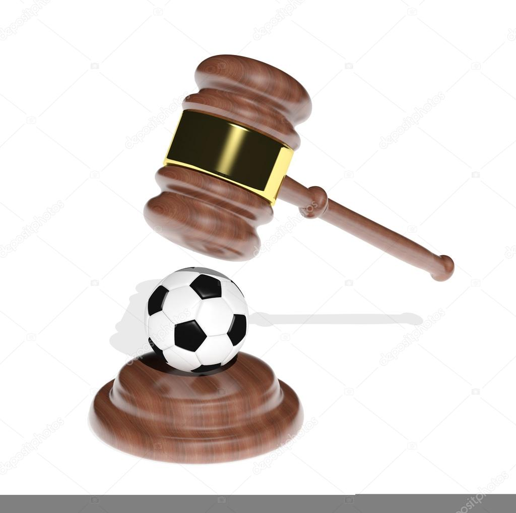 Sport and justice  Stock Photo #13397893