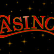 Stock Photo: Casino sign
