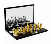 Play Chess online — Stock Photo