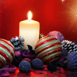 :Christmas composition — Stock Photo