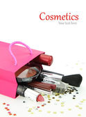 Cosmetics gift — Stock Photo