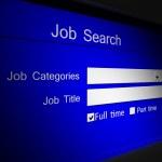 Online iş arama — Stok fotoğraf