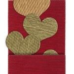 Textile heart shape — Stock Photo #17865059