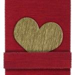 Textile heart shape — Stock Photo #17865087