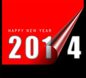Happy new year card — Stock Photo