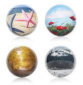 Four seasons concept — Stock Photo
