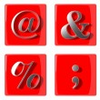3d symbols collection icons — Stock Photo #22563583