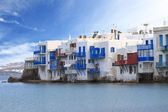 Little Venice of Mykonos, Greece — Stock Photo