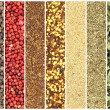 Stock Photo: Banners of herbs and spices