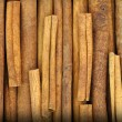 Close up of cinnamon sticks — Stock Photo