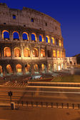 The Colosseum at night, Rome, Italy — Stock Photo
