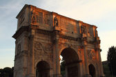 The arch of Constantine in Rome — Stock Photo