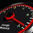 Energy efficiency rating — Stockfoto