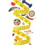 Healthy lifestyle concept — Stock Photo