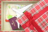 Traveling as gift — Stock Photo